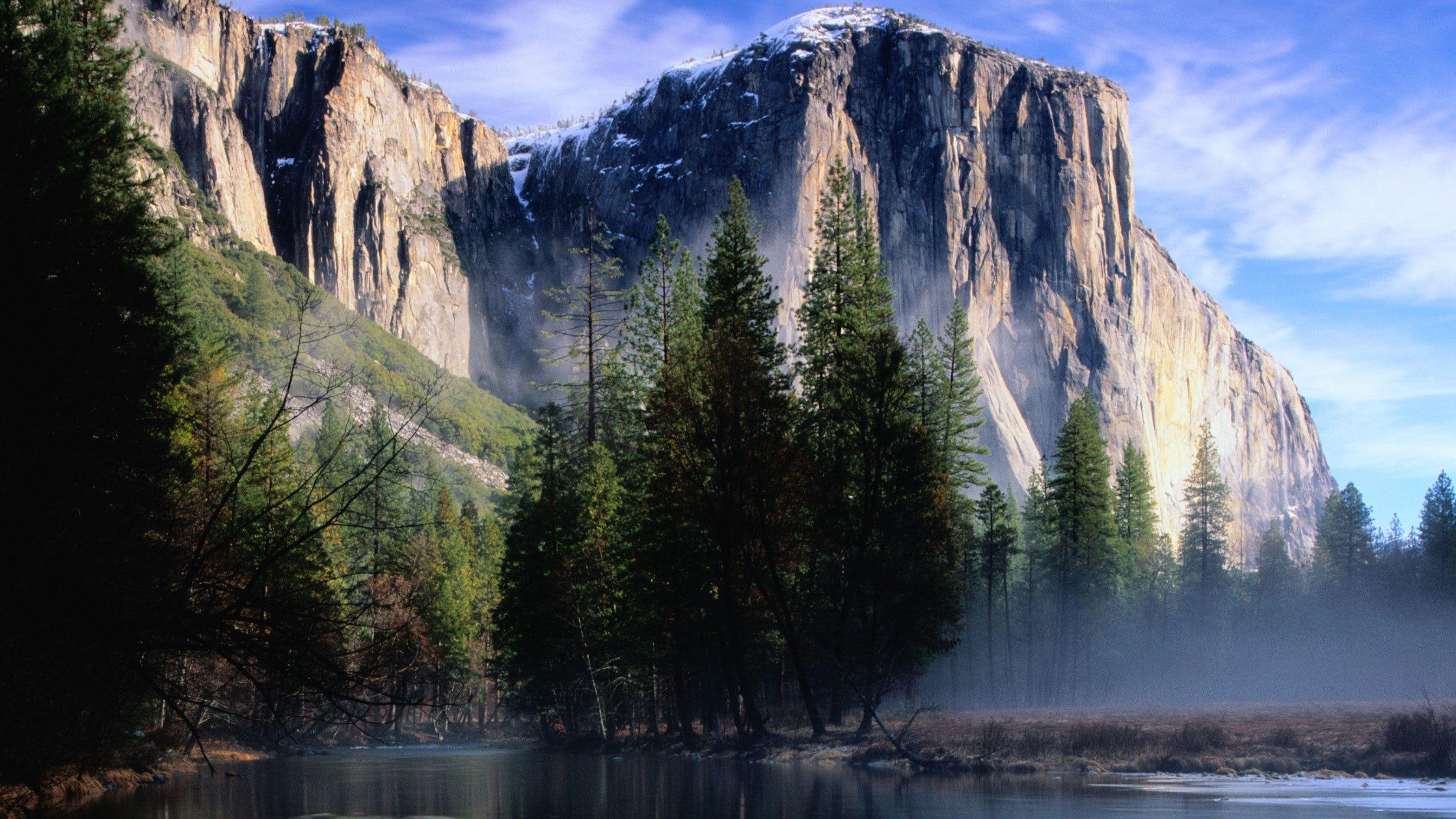 El Capitan and river at Yosemite National Park