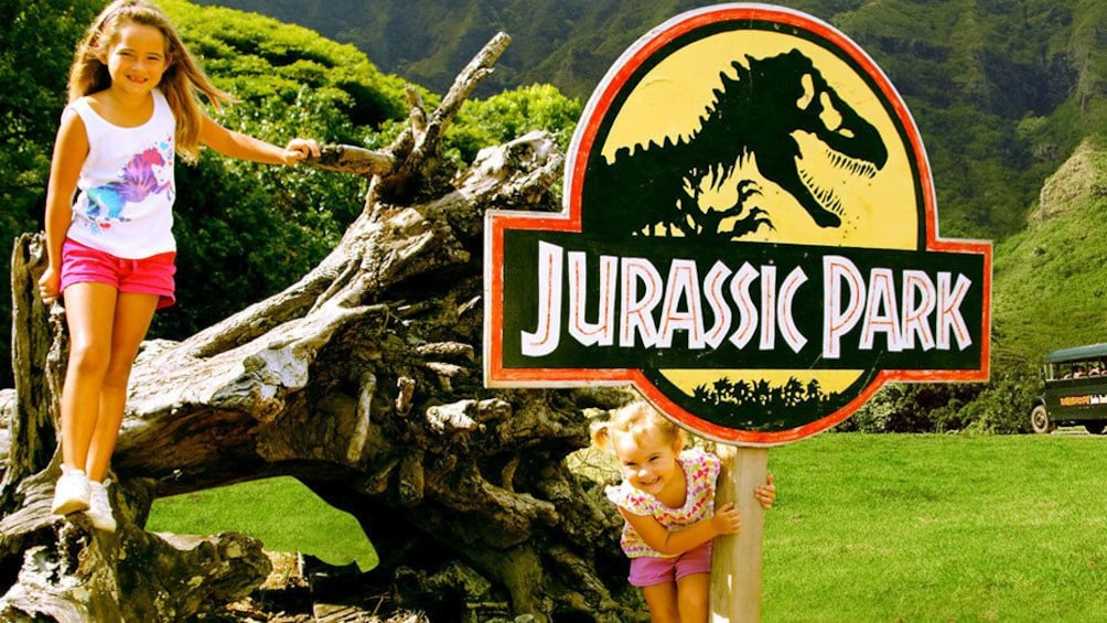 Show item 2 of 5. Explore the original movie location of Jurassic Park in the Ka'a'awa Valley of Oahu