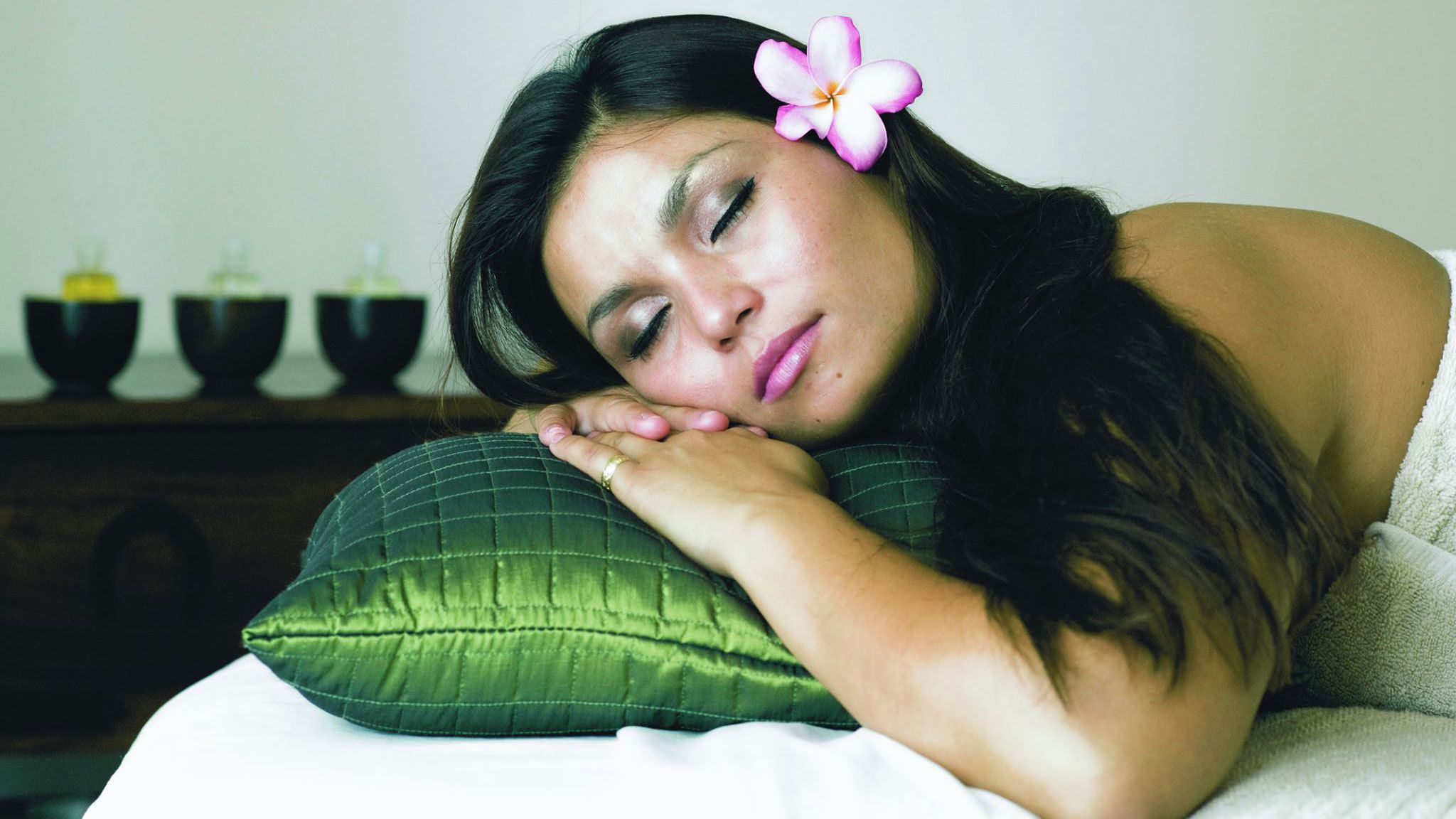 Enjoy a relaxing massage at the Spa in Oahu