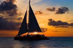 "Sunset Sail on the ""Privateer"" Catamaran"