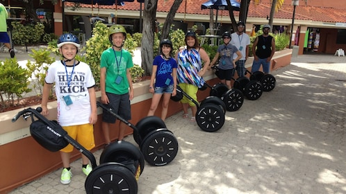 Group of segway riders in Florida