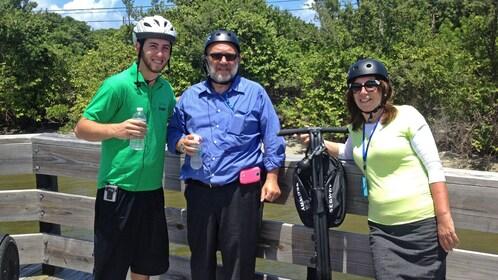 segway riders in the sun in Florida