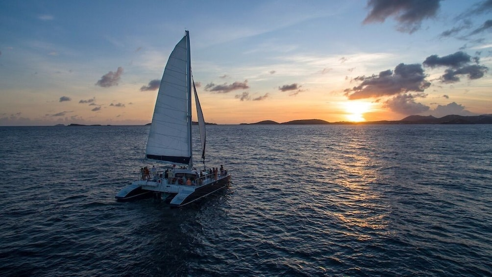 Show item 3 of 9. St. John Champagne Sunset Sail w/ Open Bar & Hors D'oeuvres