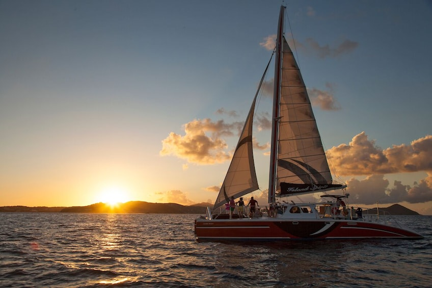 Show item 1 of 9. St. John Champagne Sunset Sail w/ Open Bar & Hors D'oeuvres
