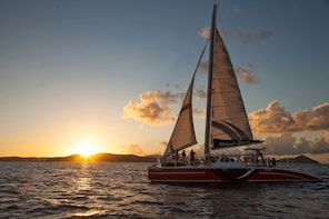 St John Champagne Sunset Sail w/ Open Bar & Hors D'oeuvres