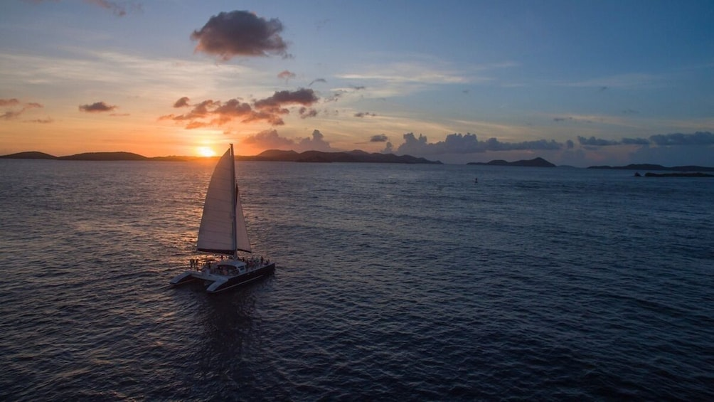 Show item 9 of 9. St. John Champagne Sunset Sail w/ Open Bar & Hors D'oeuvres