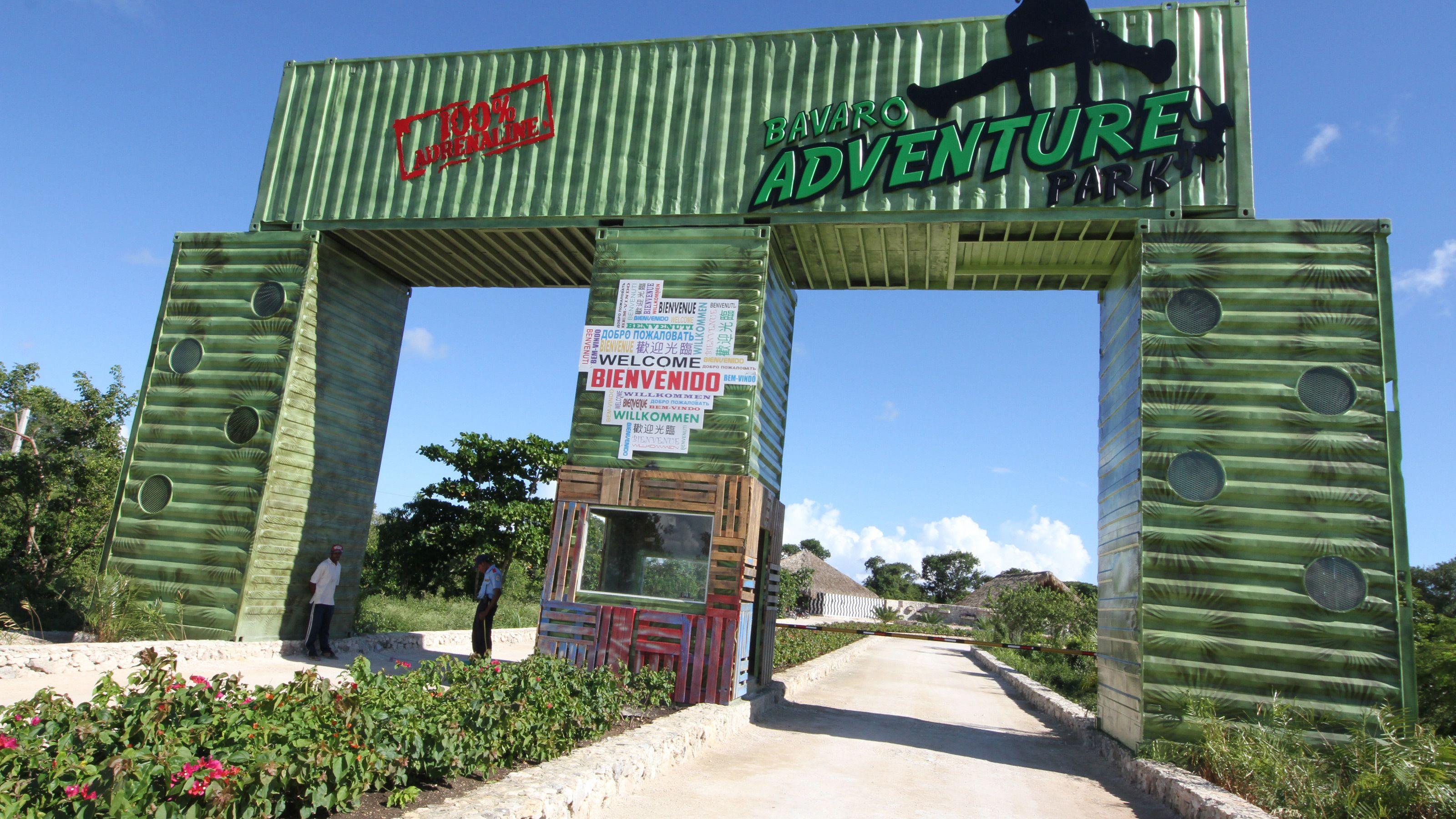 entrance into theme park in Santo Domingo