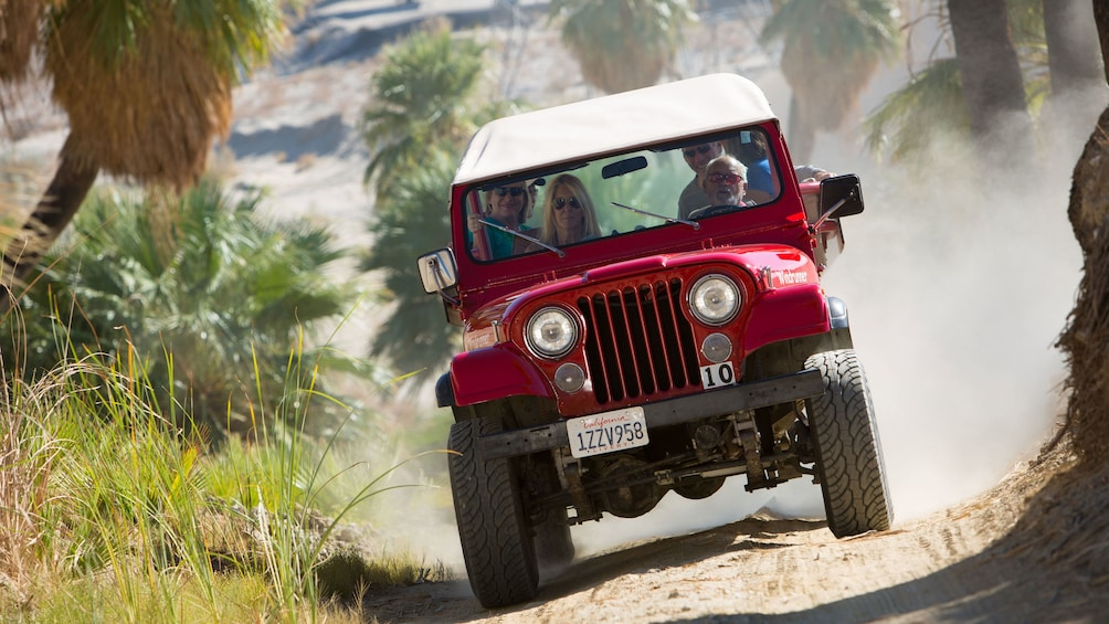 Show item 5 of 5. Jeep on a dirt road in Palm Springs