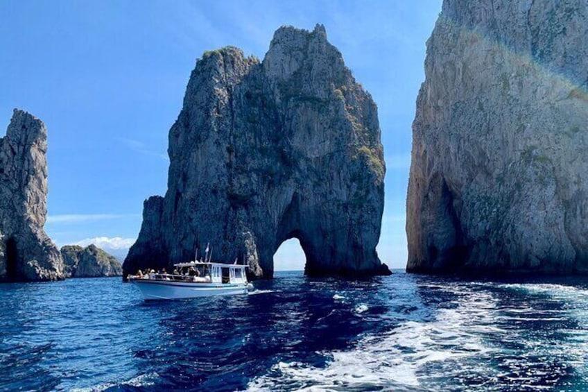 Full-Day Capri Island Cruise from Praiano or Positano