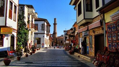 Street view of Side, Turkey