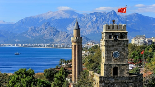 View of Antalya in Turkey