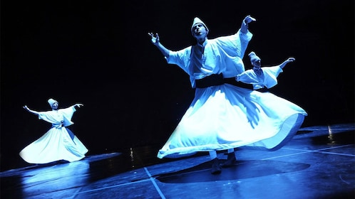 Dancers on stage at the Fire of Anatolia in Turkey