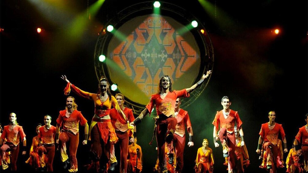 Apri foto 5 di 5. Performers on stage at the Fire of Anatolia show in Turkey