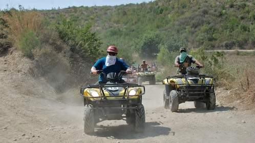 riding off road recreation vehicles