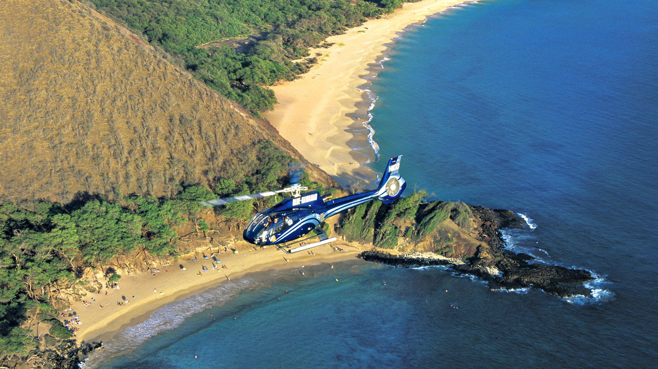 Shoreline of Northeast Maui in the Best of Maui Helicopter Tour