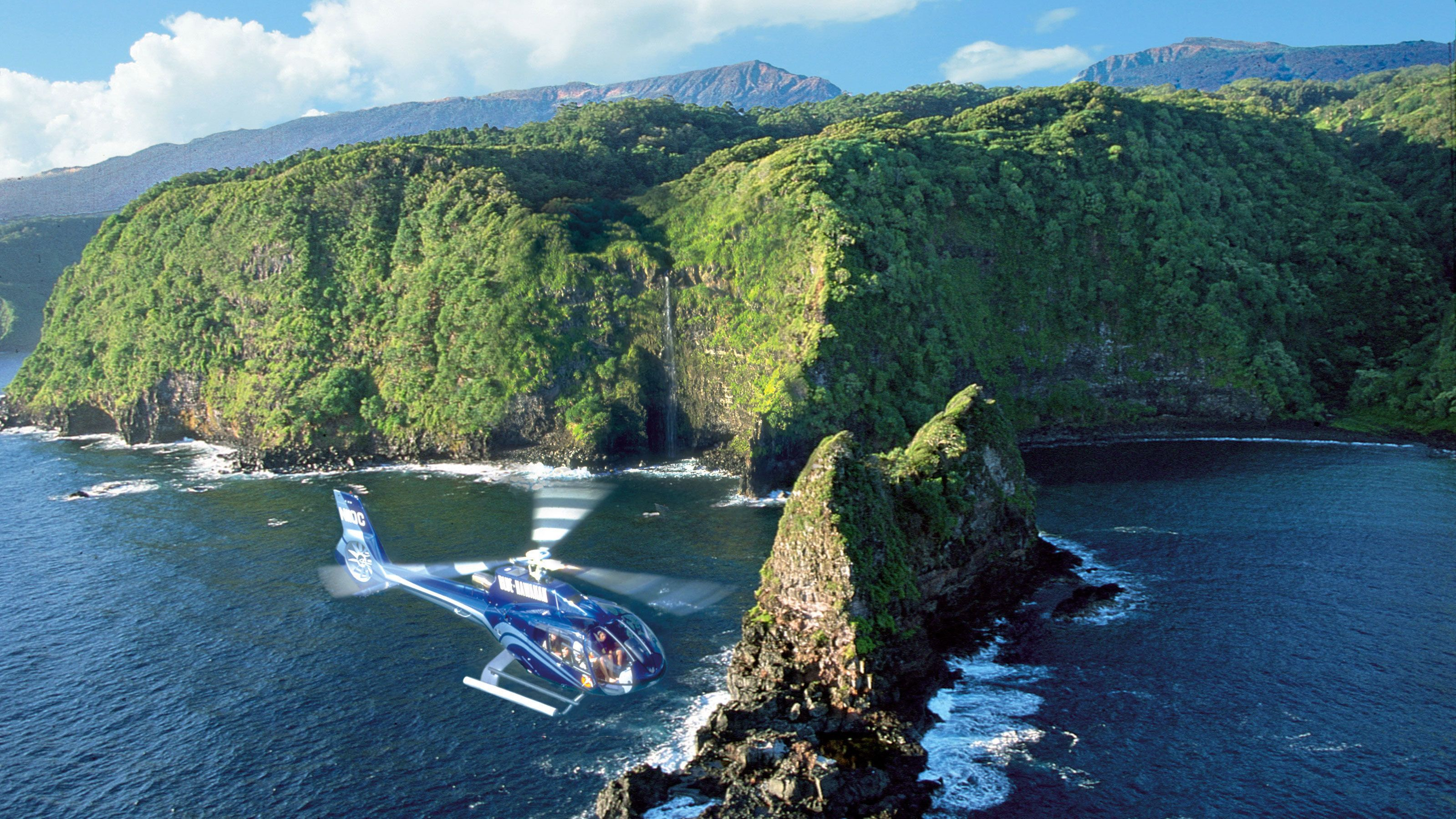 Hana Rainforest & Haleakala Volcano Helicopter Tour