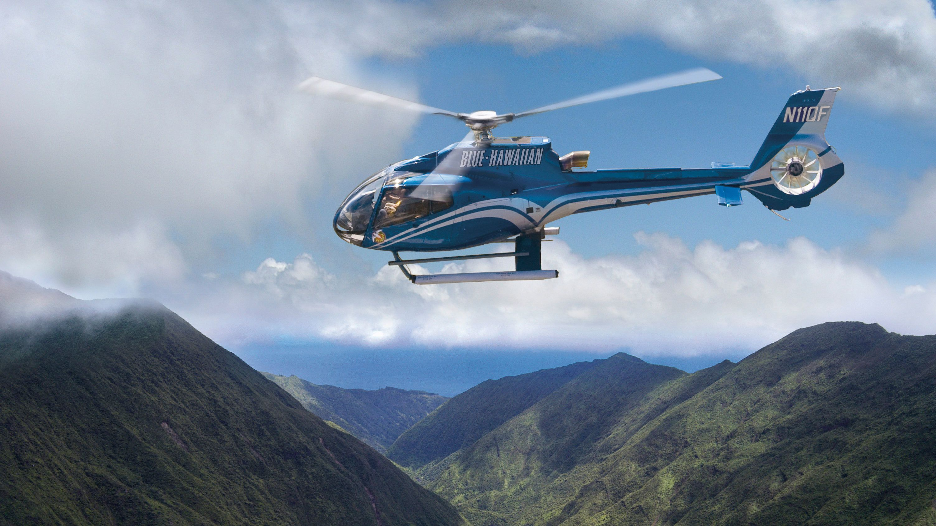 Breathtaking aerial views await you in this helicopter ride