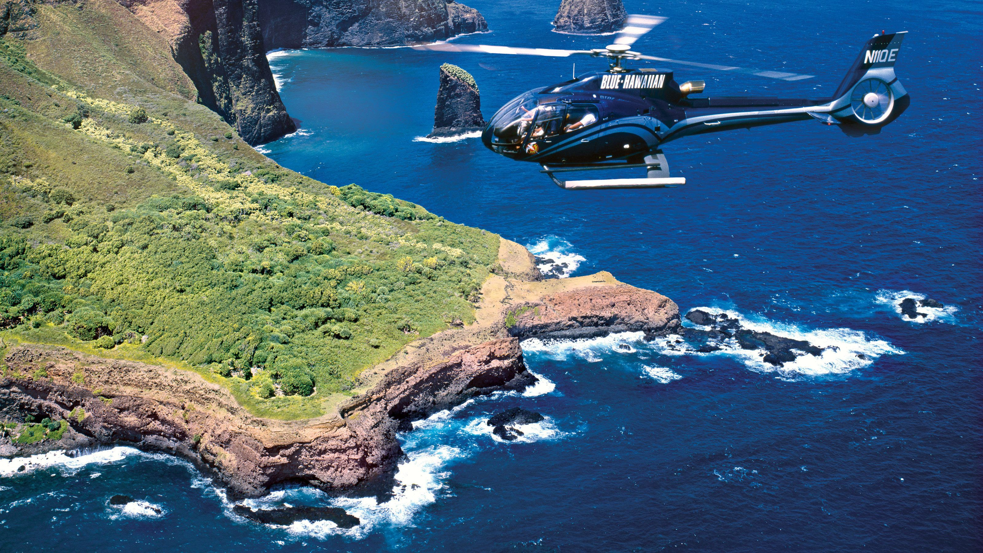 The Molokai Seacliffs Helicopter Tour in Maui