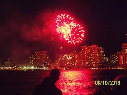 Friday Night Fireworks Dinner & Sailing from Kewalo Basin Harbour