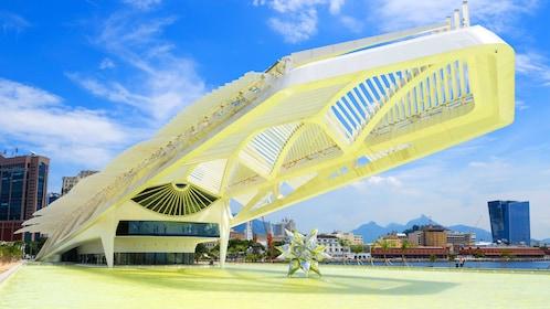 Santiago Calatrava's Museum of Tomorrow Exterior