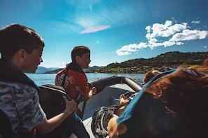 RIB safari across the Hardangerfjord