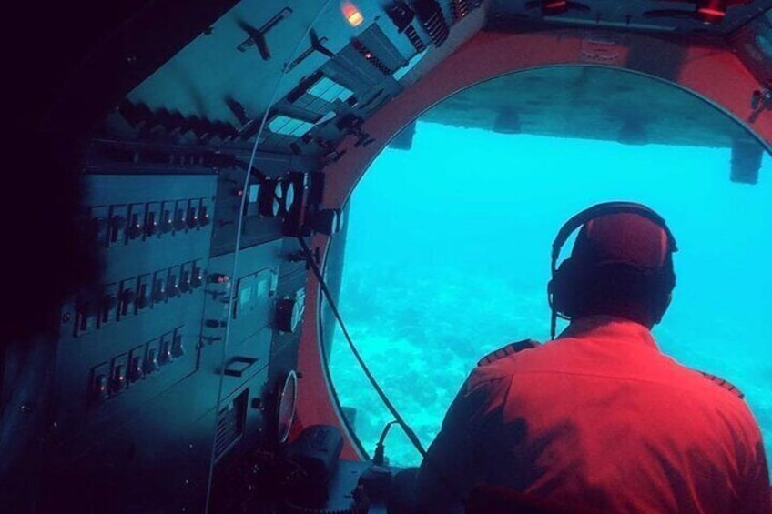 The Pilot's view!