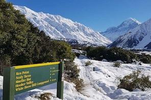 Queenstown to Christchurch Via Mt Cook & Lake Tekapo Small Group Tour
