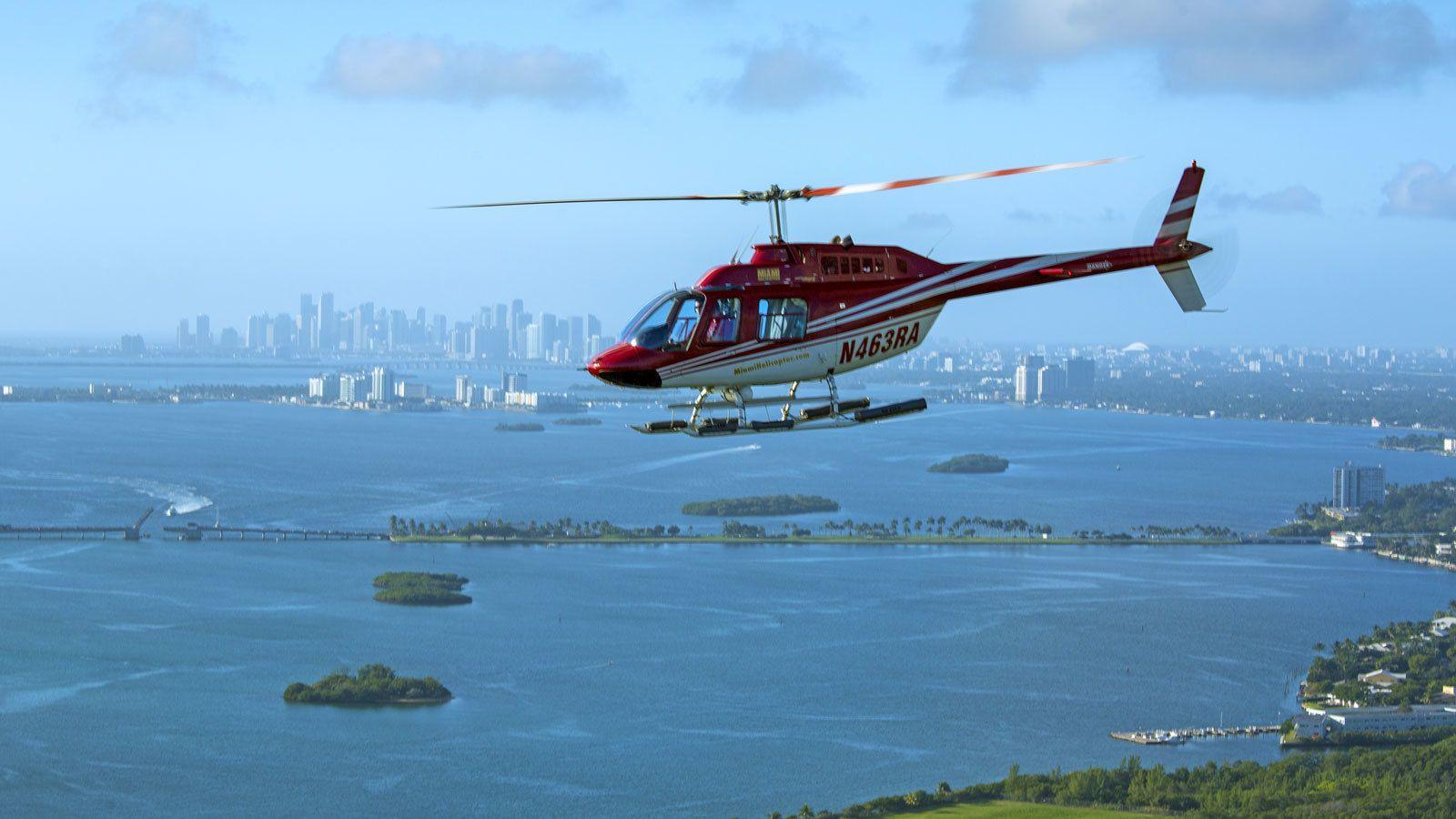 Tour en helicóptero Grand Miami
