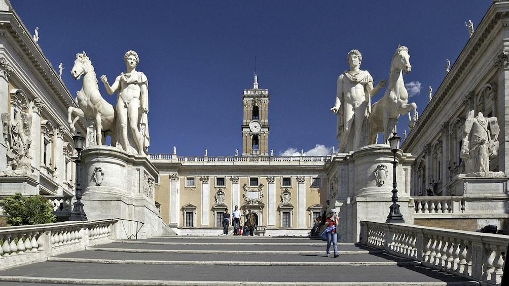 Show item 3 of 8. landmark on tour in rome