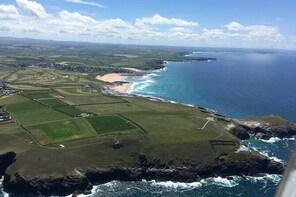 Cornish Coastline Glider Plane Trip