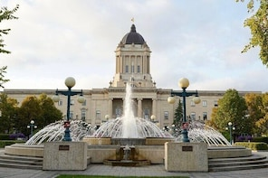 Manitoba Legislative Grounds GPS-Guided Audio Walking Tour