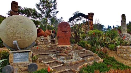Botanical garden in Quito