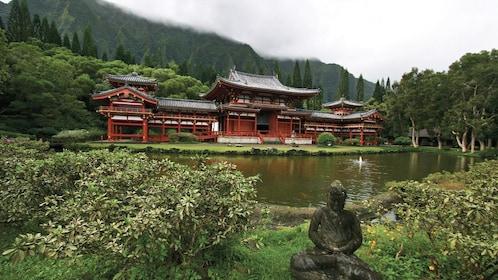 Byodo-In Temple, a Shrine in Ahuimanu, Hawaii