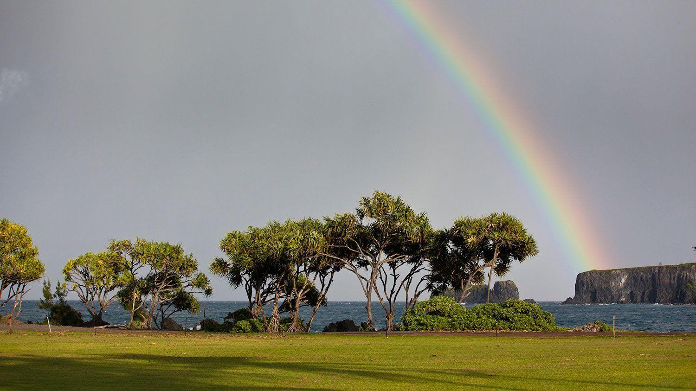 Rainbow on Hana Adventure in Maui