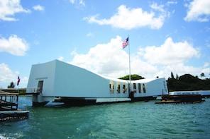 Show item 1 of 9. Pearl Harbor, Arizona, Missouri and Punchbowl Tour