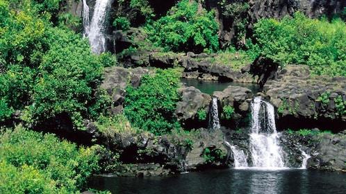 Waterfall in Oahu