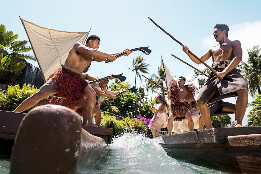 Polynesian Cultural Center Tickets with Show