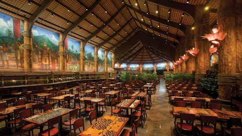 Luau dining area