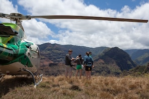 Helicopter Ride with Kauai Refuge Landing