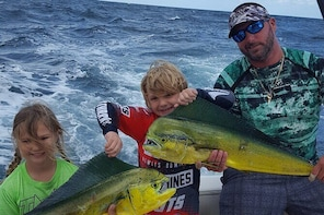 Private Full-Day Pompano Beach Offshore Fishing Charter