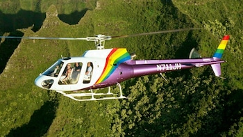 A-Star Helicopter Flight Around Kauai