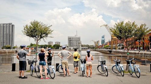 Beautiful Buenos Aires bike tour