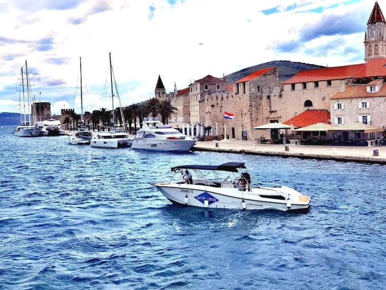Golden Horn (Zlatni Rat) half day speedboat tour