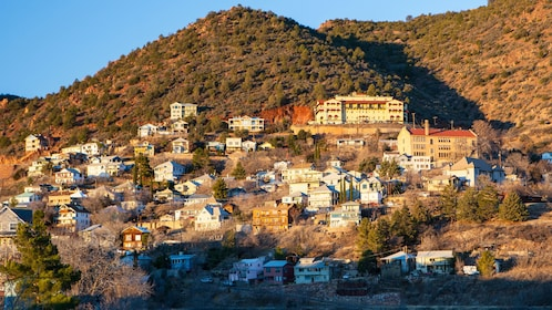 Town of Jerome high up in the hills of Arizona
