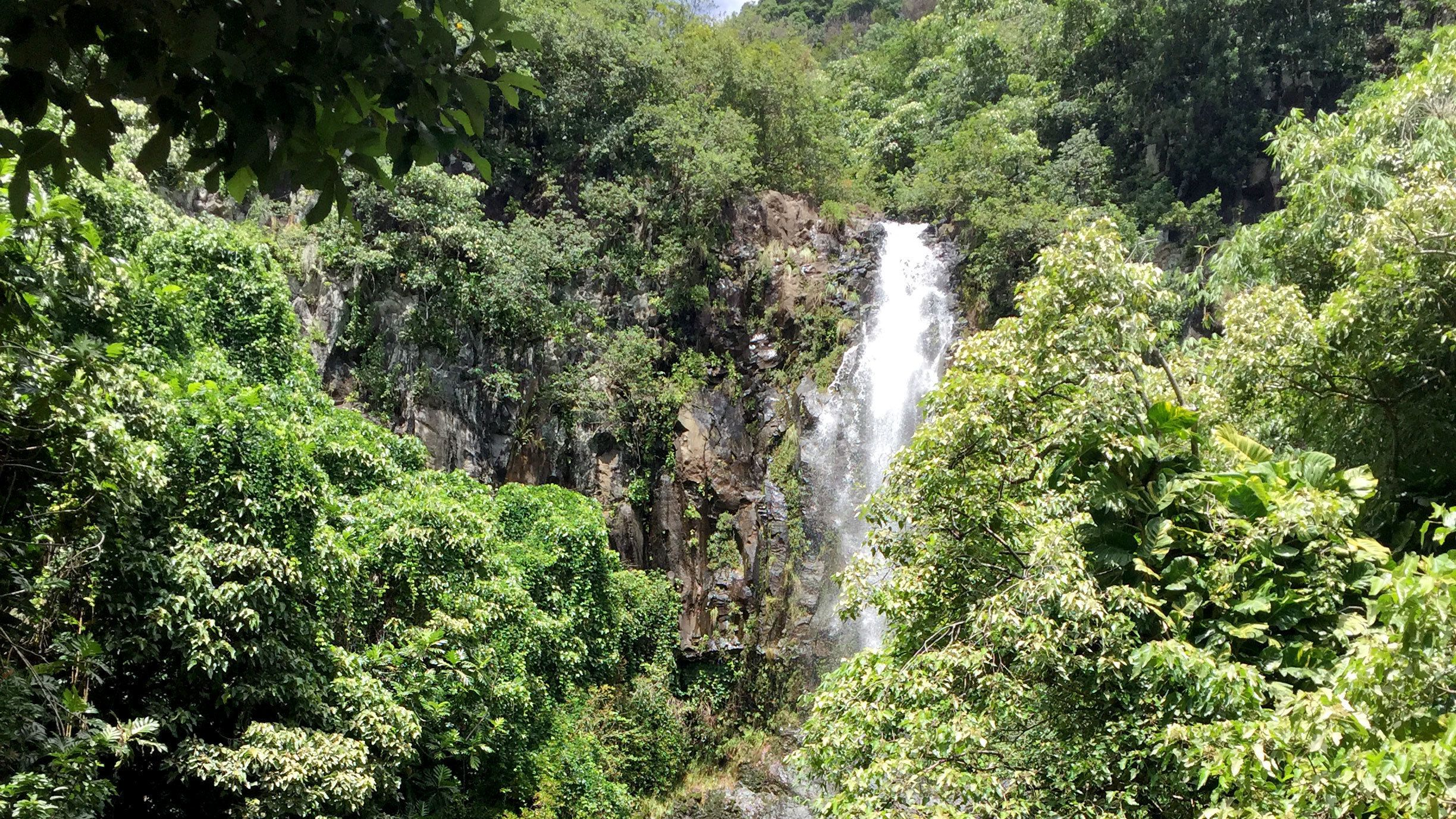 Waterfall in Hana