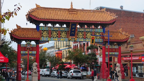 Chinatown picture during the day.