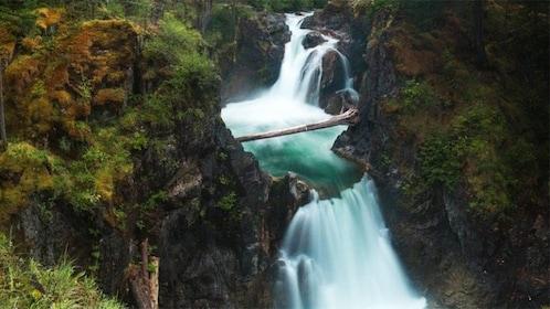 View of Englishman River Falls in Victoria