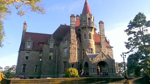 Hatley Castle in Hatley Park, Victoria
