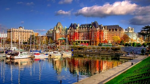 Harbor in Victoria, British Columbia