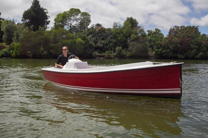Electric Boats to explore Kerikeri river